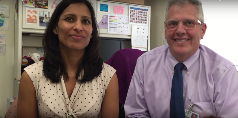 Dr. Pooja Mittal and Dr. Robert Grant