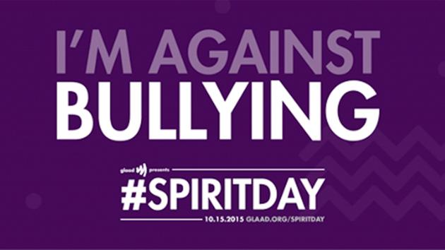 I'm Against Bullying #SpiritDay logo