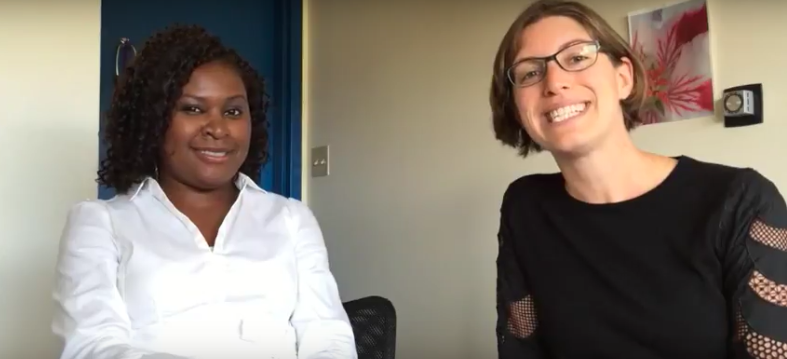 Geraldine Ekpo chats with Nika Seidman