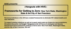 Hangouts with HIVE: Frameworks for Getting to Zero flyer