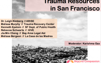 Trauma Resources in San Francisco
