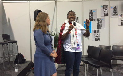 HIVE at the Research Literacy Networking Zone at AIDS 2016