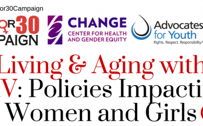 Webinar: Living and Aging with HIV: Policies that Affect Women & Girls