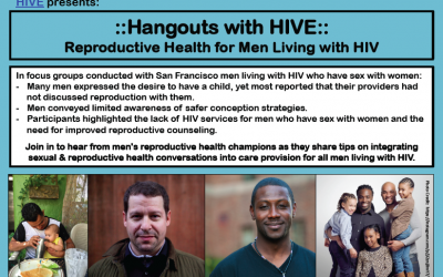 Reproductive Health for Men Living with HIV