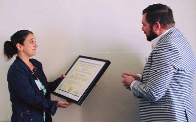 HIVE Social Worker Becca Schwartz Receives UCSF Department of Medicine SPIRIT of DOM Award