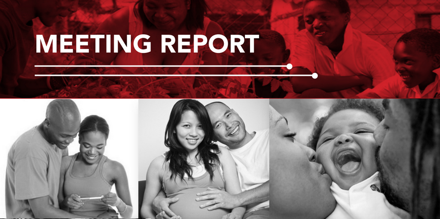 Meeting Report: happy couples in different stages of family building