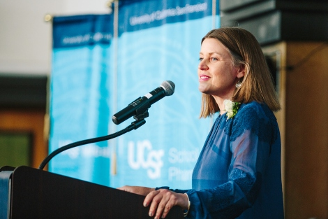 Shannon Weber, HIVE Director, honored with UCSF Chancellor Award for Public Service