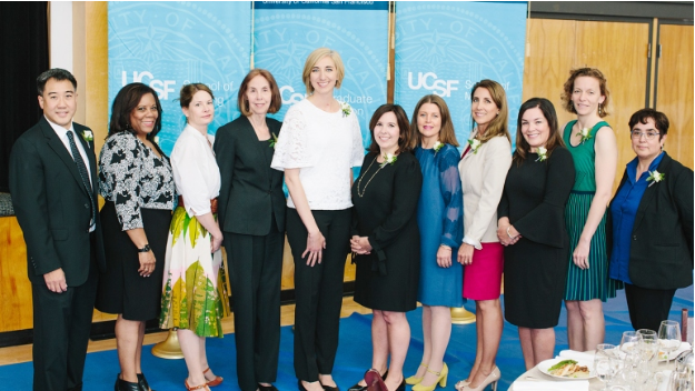 Shannon Weber, HIVE Director, honored with UCSF Chancellor