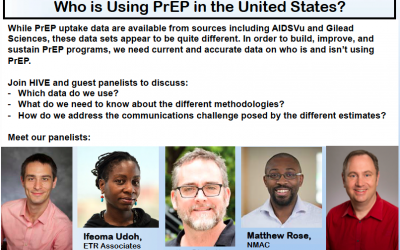 ::Hangouts with HIVE:: Who is Using PrEP in the United States?